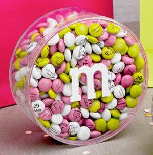8.5折 自己订制创意无限My M&Ms 官网礼物包装巧克力促销
