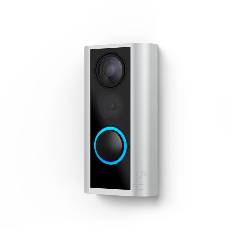 Ring 1080p HD Wireless Peephole Cam Door Bell