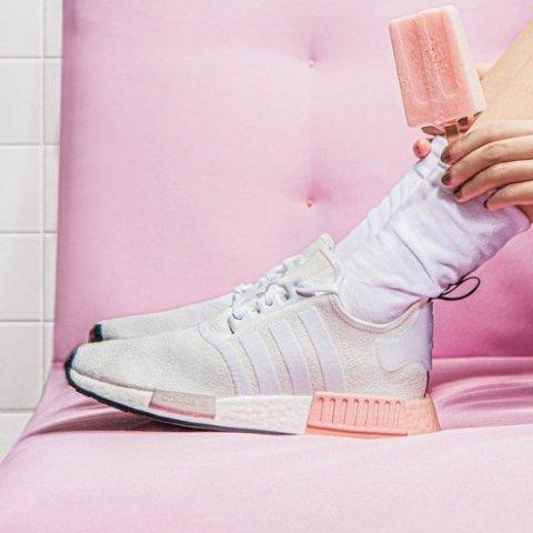 额外7折+包邮 纯白Sleek$38收adidas官网 NMD、Ultraboost、Ozweego等潮鞋好价收