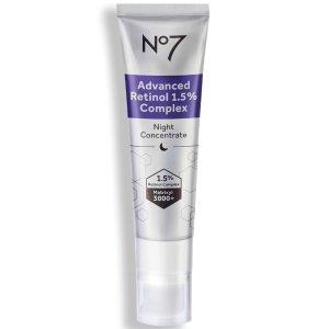 No7Advanced Retinol 1.5% Complex Night Concentrate