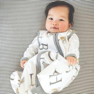 2件$30 相当于6.5折最后一天:Burt's Bees Baby 有机棉宝宝睡袋特卖 再也不担心宝宝踢被子了