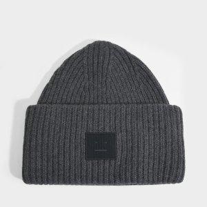 Acne Studios 笑脸帽子