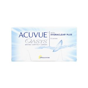 AcuvueOasys weekly or bi-weekly wear contact lenses