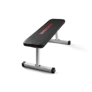 Weider Strength Flat Weight Bench with Sewn Vinyl Seats - Walmart.com - Walmart.com