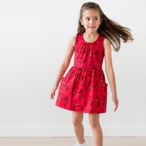 $9.99起Hanna Andersson 女童连衣裙一日促销