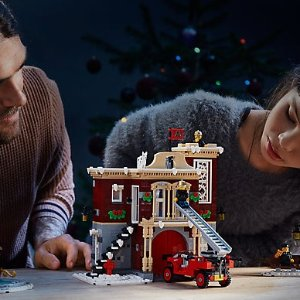 $99.99 Coming Soon on Oct 1Winter Village Fire Station 10263 @