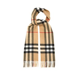 BurberryClassic Check cashmere scarf