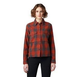 女款格纹衬衫