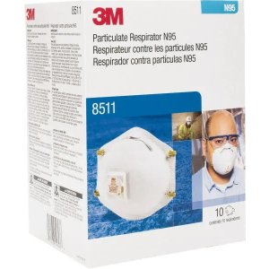 3M- N95, Size Universal, Particulate Respirator - 00099564 - MSC Industrial Supply