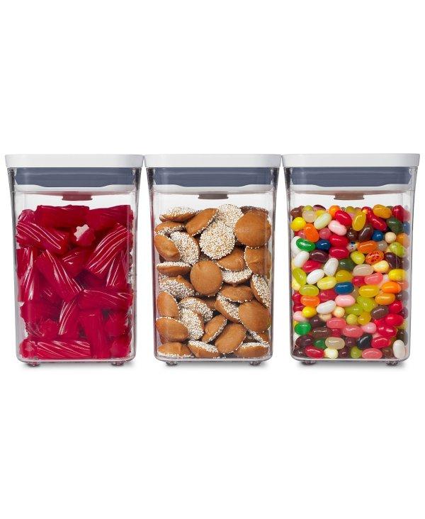 POP 多功能密封食物保鲜盒 3件套
