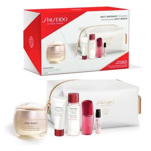 独家7.8折 定价优势+送化妆包+送护肤套组Shiseido 资生堂 盼丽风姿智感抚痕乳霜抗皱小雷达套组