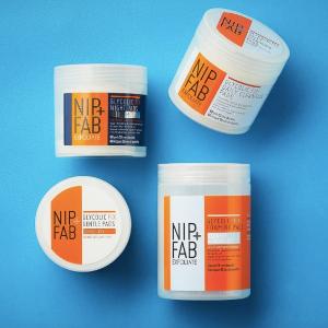5折起+送身体棉片!Nip & Fab 果酸系列大促 磨皮神器 刷酸必备神仙好物!