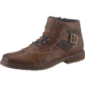 现价€69.99(原价€99.99)即将截止:bugatti 拉链系带短靴特价 手慢无