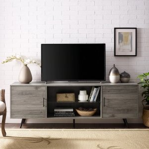Strick & BoltonErkan 70-inch Mid-century TV Console