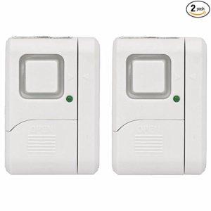 GE 无线门窗警报器,2个装