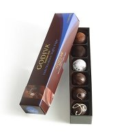 Godiva 黑松露巧克力礼盒 6颗