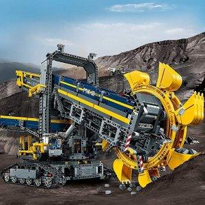 现价 £139.99(原价£189.99)LEGO 乐高 科技系列 42055 都轮挖掘机 特卖