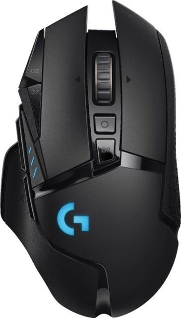 - G502 Lightspeed Wireless Optical Gaming Mouse with RGB Lighting - Black