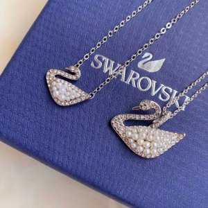 Swarovski经典白天鹅项链
