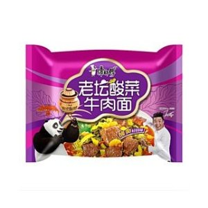 康师傅 老坛酸菜牛肉面(袋)120g