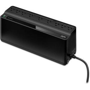 $59.99 突然断电不再慌 打雷也不怕APC 900VA 9口 防浪涌保护插座带UPS 不间断电源