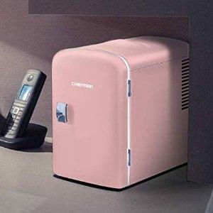 $67.32(原价$79.99)Chefman 迷你冰箱 制冷也制暖 AC/DC双电源