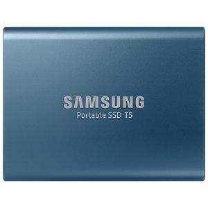 $99.99(原价$149.99)Samsung T5 500GB 固态移动硬盘