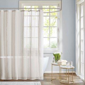 Designer Living Anna Sheer Shower Curtain
