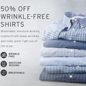 50% OffEddie Bauer Wrinkle-Free Shirts Sale