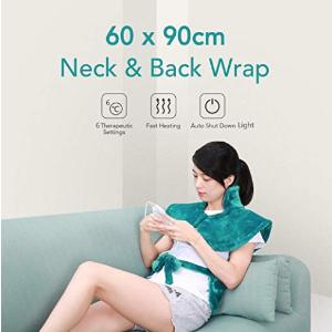 特价折扣仅39,99 € 原价52.9欧MaxKare 后肩颈加热垫电加热垫带自动关闭功能和3温度的电热毯