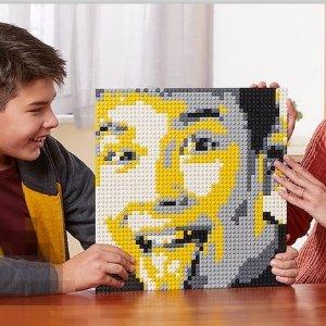 £99.99+牛年生肖礼新品上市:LEGO 个性化马赛克肖像 40179