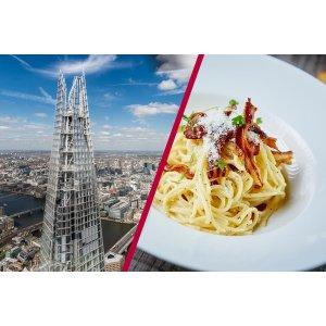 Buyagift码:23DEALMBAG碎片大厦双人票+ Marco Pierre White 三道菜晚餐
