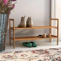 Rebrilliant 木质2层鞋架