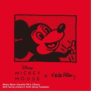 一口价$19.9 男女装货全UNIQLO 米老鼠 x Keith Haring 联名款T恤热卖