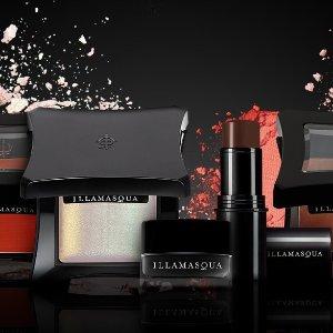 低至3.2折+送价值€41正装妆前乳illamasqua 12周年大促 明星高光、口红、妆前乳全都€13