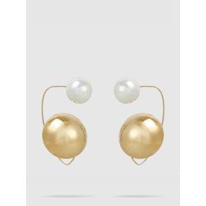 MAGDA BUTRYM珍珠造型耳钉