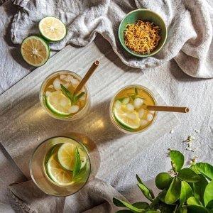 西瓜冰沙草本茶仅$7T2 tea 热情香甜水果茶系列 宅家自制健康饮