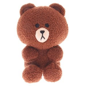 Line Friends© Brown the Bear Plush Toy