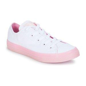 Converse大童款小白鞋