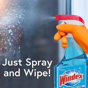 $6.63(原价$13.66)Windex 玻璃水 窗户 桌面清洁液 2L装 让家里焕然一新