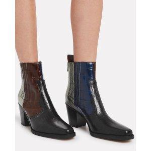 Ganni经典靴子