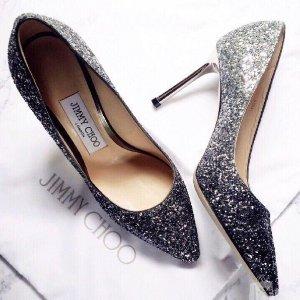 低至4折+额外8折Jimmy Choo 美鞋热卖 入手超美闪片鞋