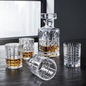 3.3折 €29.9(原价€89.9)Nachtmann 精美威士忌酒瓶酒杯套装 好酒需配好器皿