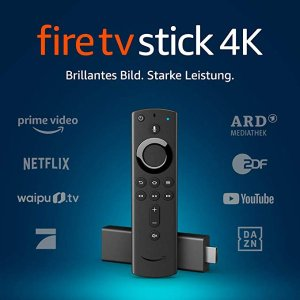 5折特价 现价€29.99包邮到家Fire TV Stick 4K 超清电视棒