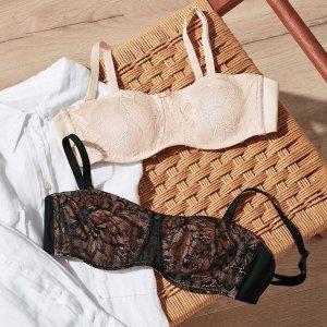 低至4折 各种胸型都能matchMyer 女士文胸清仓大促 国民品牌Bonds纯色运动内衣仅$18
