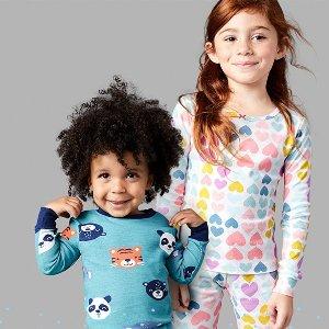 清仓区1.6折起 四件套$6.49折扣升级:Carter's官网 儿童睡衣热卖,新品低至4折