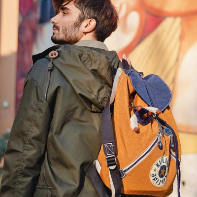 双肩包$38,零钱包$8.75 米奇合作款也参加Kipling 精选挎包, 钱包, 双肩包等额外7折热卖 超高性价比