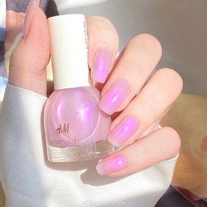 H&M梦幻紫指甲油
