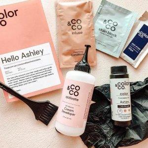 立减$5+送正装护发素最后一天:Color & Co  欧莱雅旗下私人定制染发 解决选色苦恼