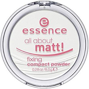 Amazon.com: essence | All About Matt! Fixing Compact Powder | Translucent - For All Skin Tones and Types: Beauty